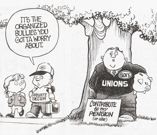 The Union Myth of Representing 'Working People'