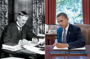 Obama's Munich? Bad analogy: Chamberlain feared his enemies. Obama identifies with them.