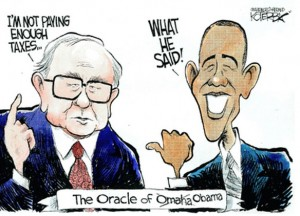 Buffet & Barack Playing By Warren's Rules