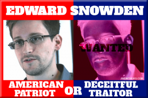 Edward Snowden Patriot or Traitor[1]