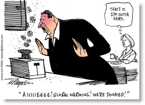 Al has grown rich off of the myth of Global Warming.