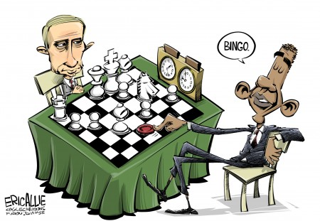 Be afraid: Putin fills Obama's moral vacuum