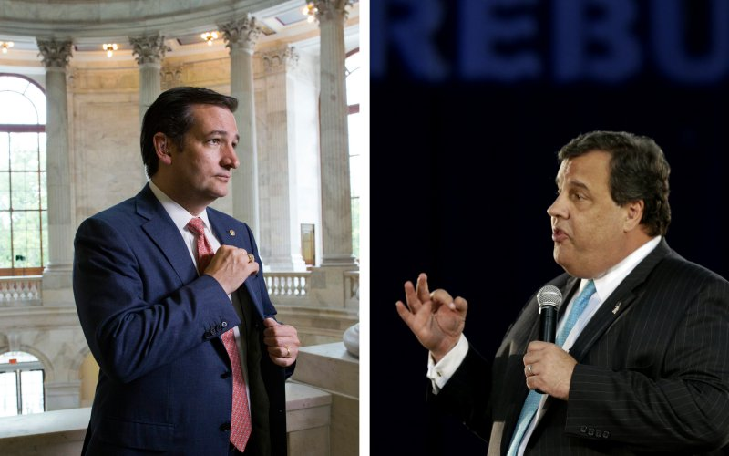 Cruz & Christie, 2016? Two straight shooters vs. one serial liar could be the ticket.