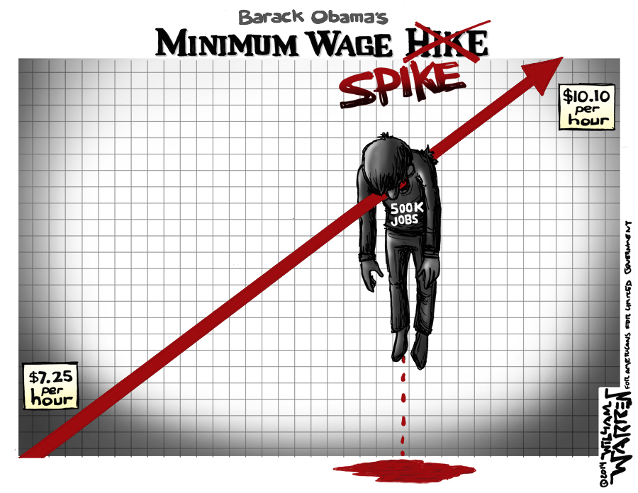 Minimum wage scam: working person loses, unions & Dem politicians clean up!