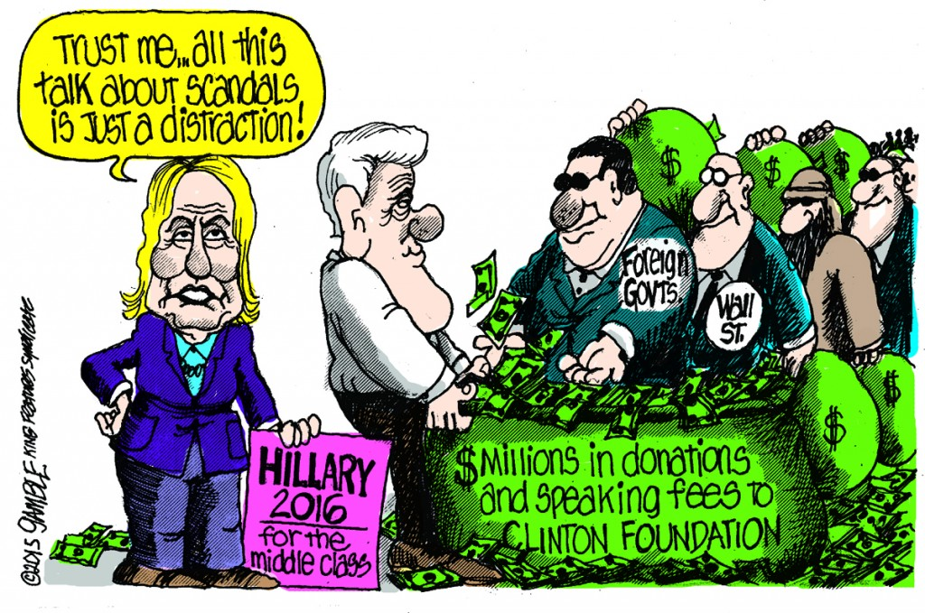 Clinton Cash: Billary's Clearance Sale of Influence Futures