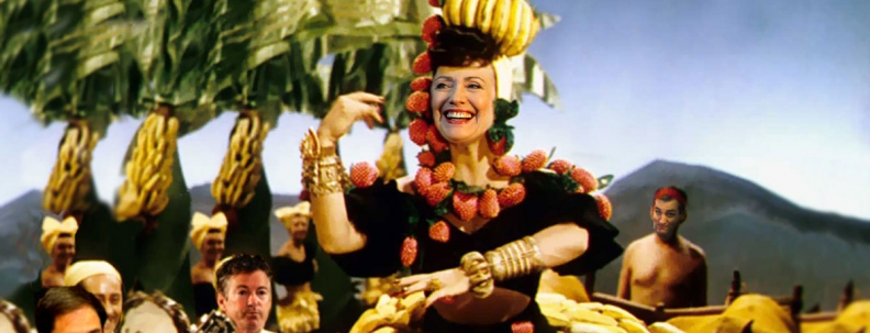 Laughable Banana Lady.
