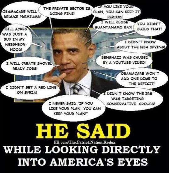 obama-lies, scandals