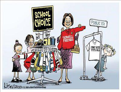 School choice no guarantee without parental involvement and eradication of PC propaganda