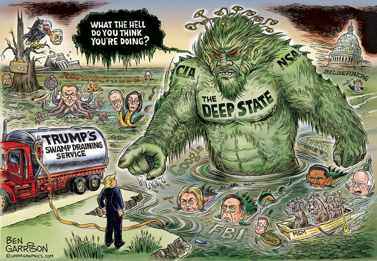 Trump (and all of us) vs. the Deep State