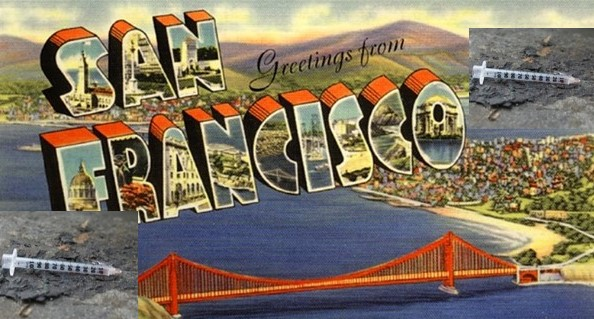 """When I come home to you, San Francisco…"" Up-and-coming poster child for Dem Party ruination of our cities."