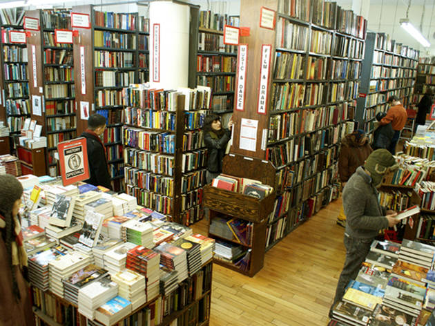 old time bookstore