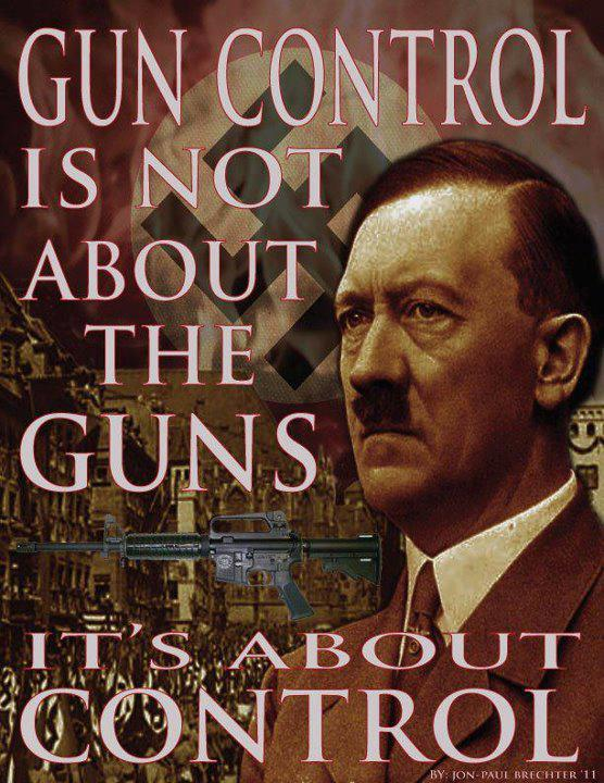 Gun Control is about control, not guns.
