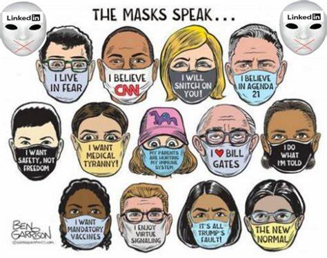 The Sinister Message of Mask Nation