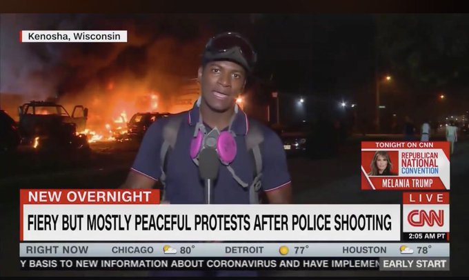 """If this is """"mostly peaceful protests,"""" a Nobel Peace Prize makes perfect sense."""