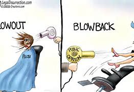 blow out, blow back