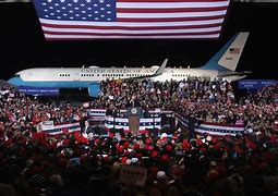 air force one, rally