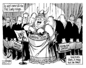 Fat lady, election
