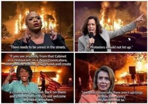 Riots a double standard